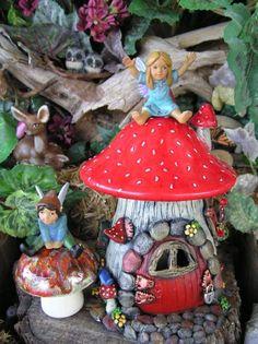 Tiny Fairy Miniature Garden