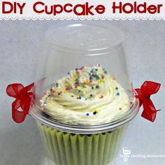Easy DIY Cupcake Holder - Home Cooking Memories