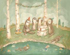 Children's Art & Illustration by Gretchen Ellen PowersSome
