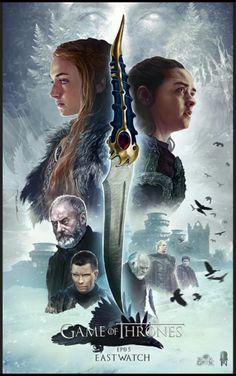 Game of Thrones East Watch Poster - Ertac Altinöz