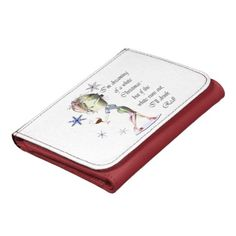 I'm dreaming of a white Christmas, fun Wallet gift