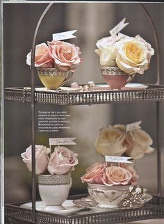 Great for bridal shower or baby shower.  Love the soft color palette