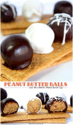 Peanut Butter Balls from Messes to Memories