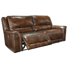 Jayron Leather 2 Seat Power Reclining Sofa