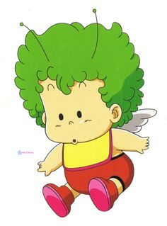 "Gatchan (from Toriyama Akira's ""Dr. Slump""). His/her real name is a fusion of ""Gojira"" and ""Gamera"" (""Gajira"")."