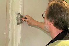 There's a Better Way: Custom Drywall Taping Tool - Fine Homebuilding Fixing Drywall, Drywall Corners, Angled Ceilings, Home Repair, Remodels, Household Tips, Wood Working, Home Remodeling, Woodworking Projects