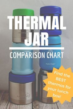 404548837 Thermal Jar Comparison Chart  What s the Best Thermos for Packing.