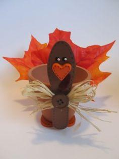 Maceta de Pavo. Manualidades para Thanksgiving.