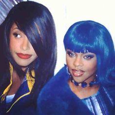 Aaliyah & Lil Kim
