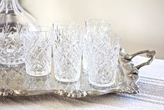 Hey, I found this really awesome Etsy listing at https://www.etsy.com/listing/253072612/set-cut-crystal-aperitif-glasses