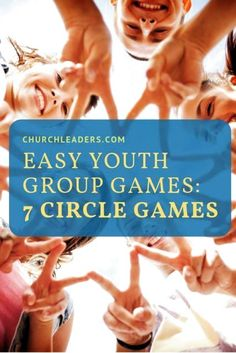 Need a couple of easy youth group games to keep in your back pocket? Circle games are by far my favorite because of how easy they are to whip out at a moments notice. Discover seven easy youth group circle games. #youthgroupgames #youthgroupactivities #youthgroupideas #youthmin #stumin #teengames Games For Big Groups, Easy Games For Kids, Youth Group Activities, Group Games For Kids, Games For Teens, Christian Youth Activities, Fun Teen Games, Kids Church Games, Kid Games