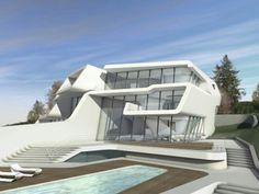Two Exclusive Villas Design by Zaha Hadid Architechs