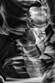 Antelope Canyon ~ Ansel Adams