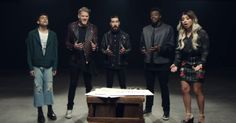 """John Lennon's """"Imagine"""" performed by Pentatonix is a work of art. They beautifully remind us that we are all human. This video is absolutelywonderful."""