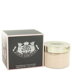 Juicy Couture by Juicy Couture perfume 7.5 oz Caviar Bath Soak for Women NIB #JuicyCouture