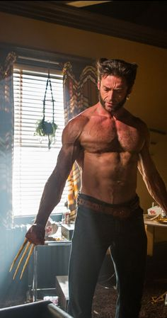 Each of the Wolverine movies (what there are other X-men?) gets better - Jolene Navarro Hugh Jackman talks intermittent fasting and Wolverine body diet and workout plan Marvel Comics, Films Marvel, Hq Marvel, Marvel Characters, Wolverine Logan, Marvel Wolverine, Wolverine Hair, Superman, Hot Men