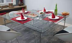 Hacer una mesa con una verja
