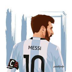 Lionel Messi 10 Argentyny w wersji rysunkowej Messi Argentina, Fc Barcelona, Messi Drawing, Soccer Drawing, Messi Tattoo, Lionel Messi Family, Antonella Roccuzzo, Argentina National Team