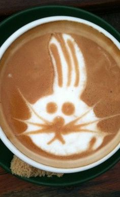 Bunny Latte Art