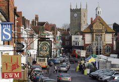 Marlborough's Historic High Street - Marlborough, England