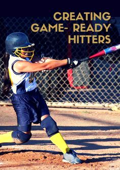Is practice really preparing your batters for what they'll face in a game? Do you tend to have batters that look awesome in practice during drills or off the machine, but for some reason can't quite produce come game time? If so, you may be interested in these rather basic, yet often overlooked tips for hitting practice. Creating Game- Ready Hitters - http://www.activekids.com/softball/articles/creating-game-ready-hitters-883284