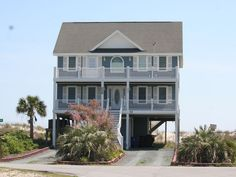 Great Oceanfront Home! 5BR, Private Pool, Hot tub & Elevator. Master bedroom (King) on top floor, Large Open family room shared with, kitchen and eating are...