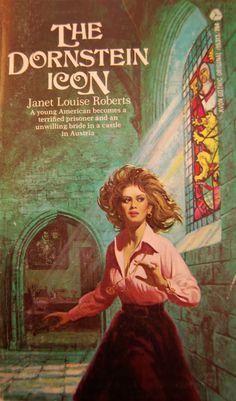 Janet Louise Roberts: The Dornstein Icon Sci Fi Horror, Horror Books, Arte Horror, Gothic Horror, Horror Art, Romance Novel Covers, Romance Novels, Romance Art, Book Cover Art