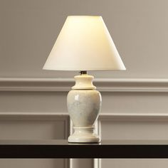"""Found it at Wayfair - Ira 15"""" H Table Lamp with Empire Shade"""