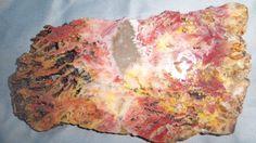 Feather ridge Plume Agate Rough Slice For Artisan by gemrockshop