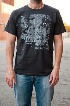 Dc Cityfabric Shirt/tote/print. Great Idea And Execution.