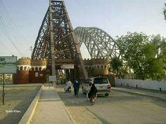 Awesome view of beautiful Lansdowne Bridge Sukkur Sindh Pakistan