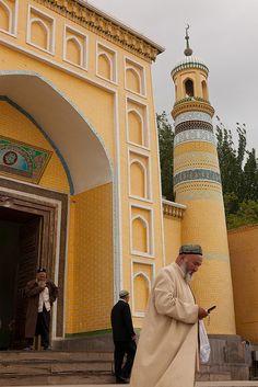 After Friday prayers, Kashgar