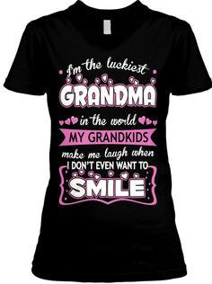 I'm the luckiest Grandma