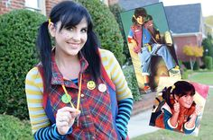 Punky Brewster Costume by Hudson's Happenings - This would be adorable for an #80s party and you can mix and match what you already have so it's easy and affordable. http://www.liketotally80s.com/2006/12/80s-costume-punky-brewster/