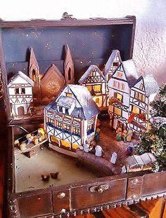 Miniature landscape / Christmas / Nativity in by NatAcademy