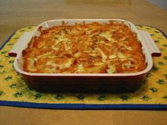 meat sauce macaroni gratin 残り物でできる!ミートソースのマカロニグラタン (meat sauce, cottage, cheese, spinach, dry basil)