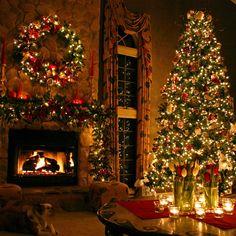SEASONAL – CHRISTMAS – a new england christmas can be perfect as a postcard.