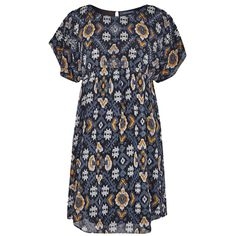 French Connection Yoko Embellished Georgette Dress