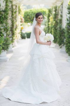 Bride in a Hayley Paige Gown