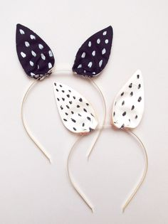 Bunny Hairband | Fox shop, Lucille Michieli