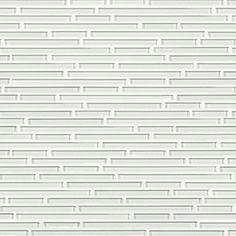 Wolfgang White Gloss Harmonic Lines Linear Mosaic