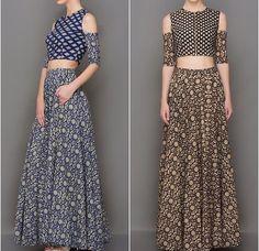 Nitya bajaj# off shoulder look # cropped top love # fusion wear
