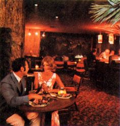 color tones, light levels - dense, eclectic and kitcsh - nightclub 1960s - 75