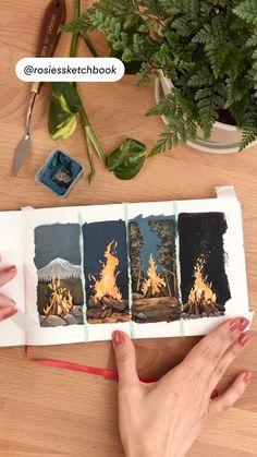 Watercolor Art Lessons, Watercolour, Watercolor Paintings, Gouche Painting, Gouache Tutorial, Acrilic Paintings, Dorm Art, Art Painting Gallery, Guache