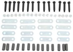 Never Fail Tandem Axle Suspension Upgrade Hardware Kit for Double Eye  Springs