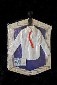 VINTAGE 1962 Barbie Ken Fashion Pak Pack NOS Clothing Dress Shirt & Tie