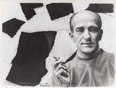 Paul-Émile Borduas (1905-1960) by Marcel Vincent. Follow the biggest painting board on Pinterest: www.pinterest.com/atelierbeauvoir