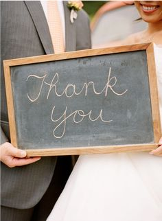 For thankyou cards...maybe write thank you in the sand??