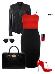 Untitled #3397 by gone-girl on Polyvore featuring polyvore fashion style WearAll Versace Alexander McQueen Christian Louboutin Mulberry BERRICLE 3.1 Phillip Lim Chanel clothing