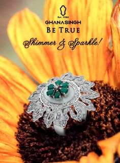 Add a little sunshine to your collection with this lovely two-tone ring. #ShadesOfSpring #Fashion #Jewellery
